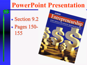 PowerPoint Presentation Section 9.2 Pages 150- 155