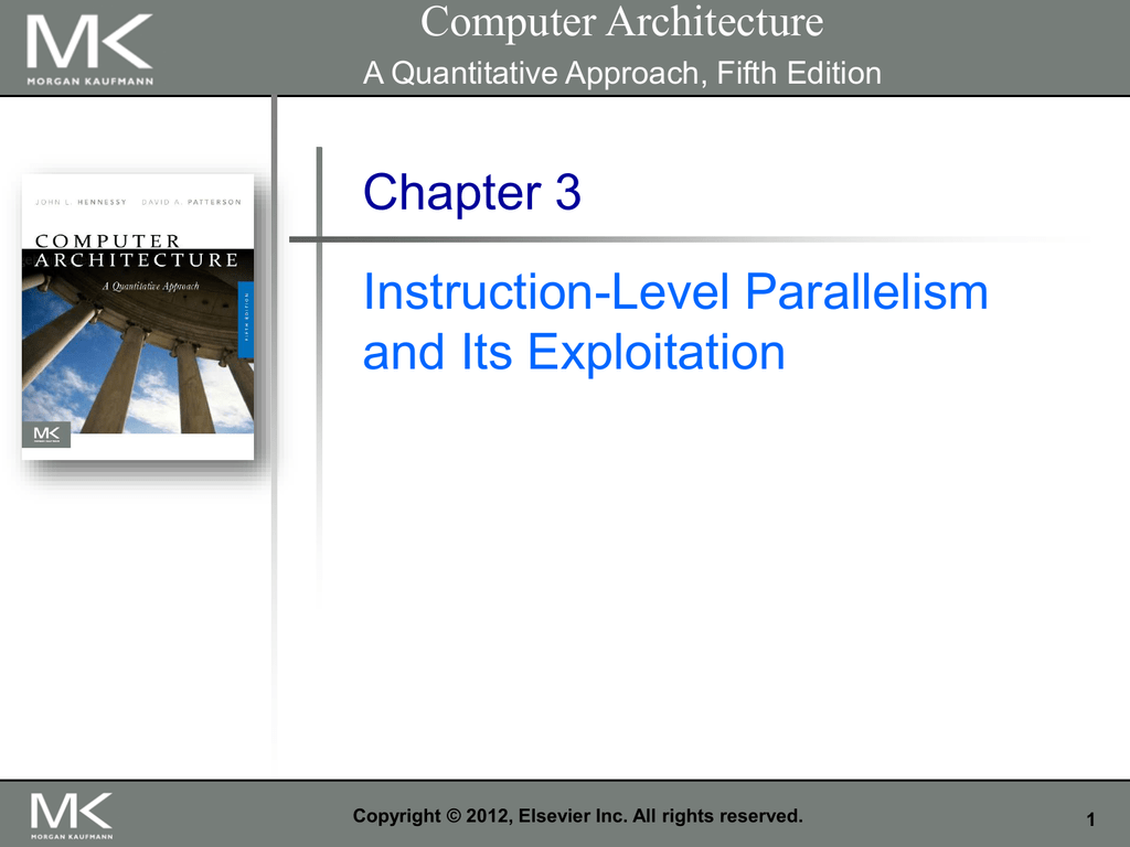 Data level parallelism in computer architecture pdf