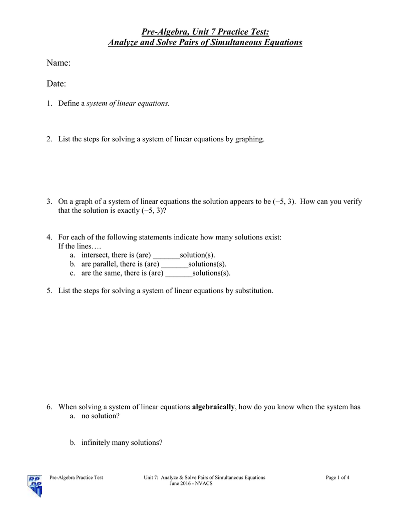 worksheet Systems Of Equations By Substitution Worksheet solving systems of equations algebraically worksheet answers all grade worksheets by substitution 017959040 1 ed7459c3bbb61da666c19104477da34a by