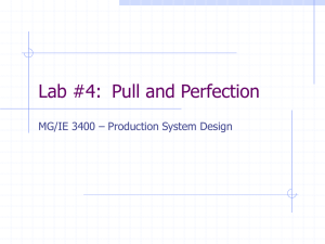 Lab #4:  Pull and Perfection