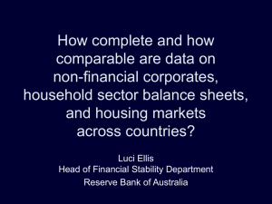 How complete and how comparable are data on non-financial corporates,