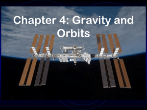 Chapter 4: Gravity and Orbits