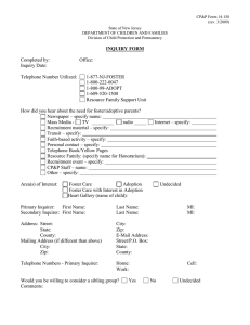 CP&P Form 14-158 (rev. 3/2009) State of New Jersey