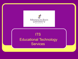 ITS Educational Technology Services