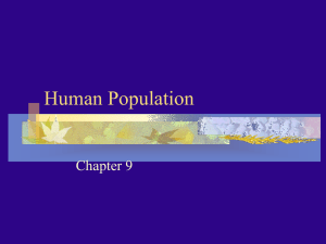 Human Population Chapter 9