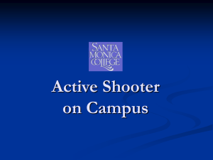 Active Shooter on Campus