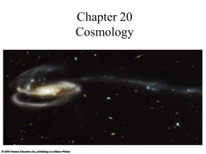 Chapter 20 Cosmology