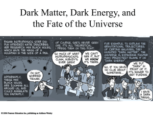 Dark Matter, Dark Energy, and the Fate of the Universe
