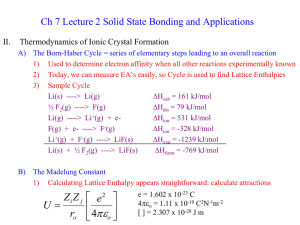 Ch 7 Lecture 2 Solid State Bonding and Applications II.