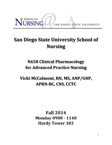 San Diego State University School of Nursing