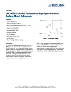OLF300ET: Extended Temperature High