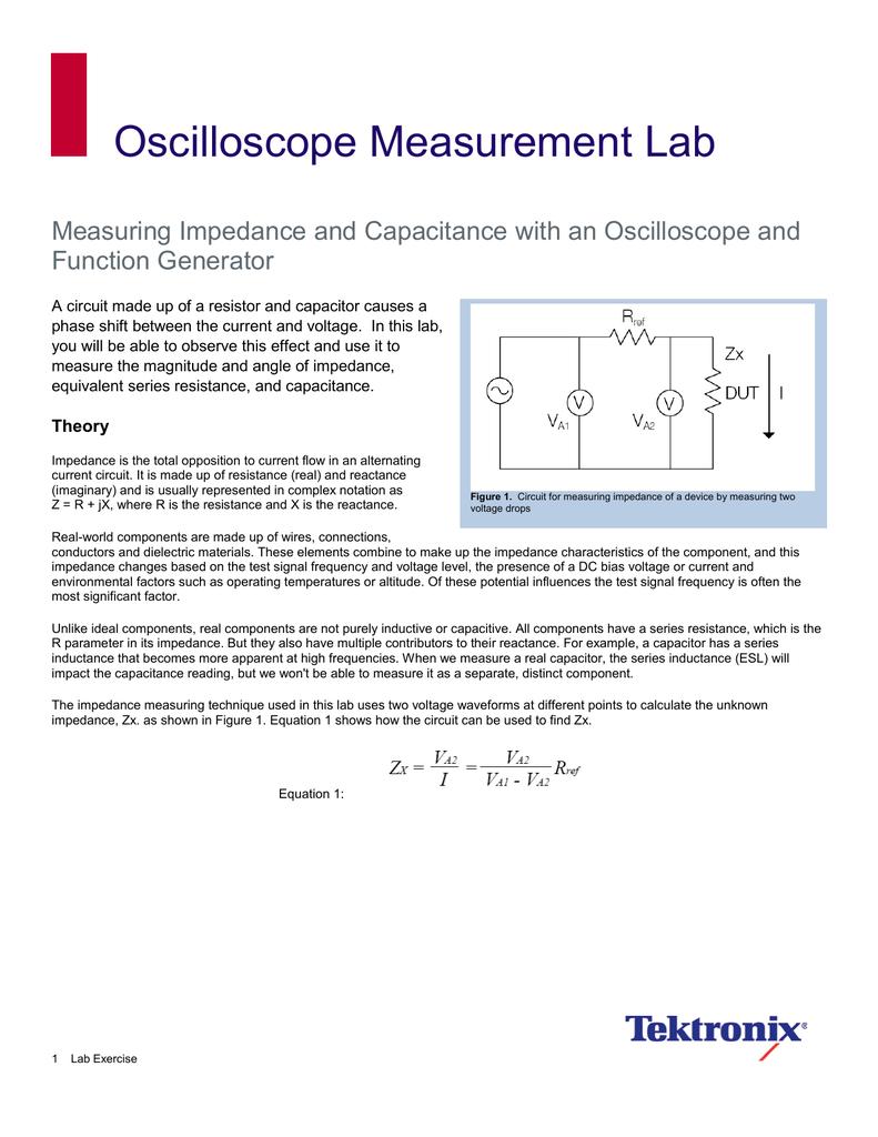 Oscilloscope Measurement Lab