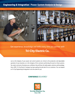 Tri-City Electric Co.