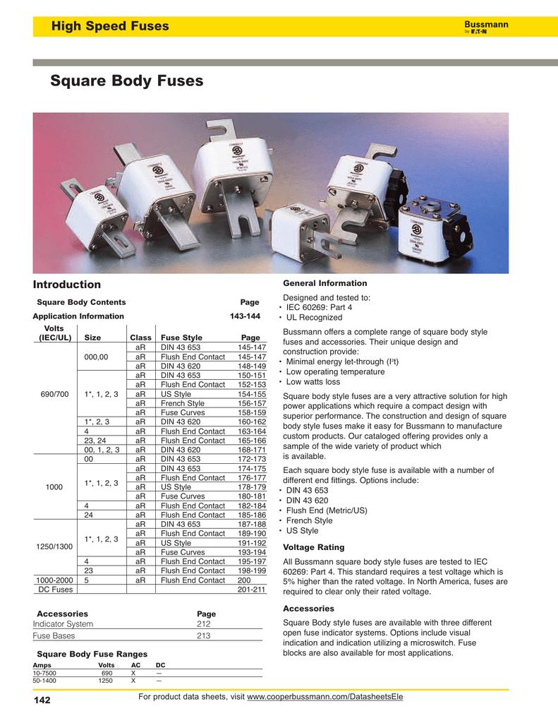 Bussmann Full Line Catalog 1007 Circuit Tester 80500 Volts Ac Dc