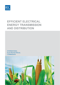 efficient electrical energy transmission and distribution