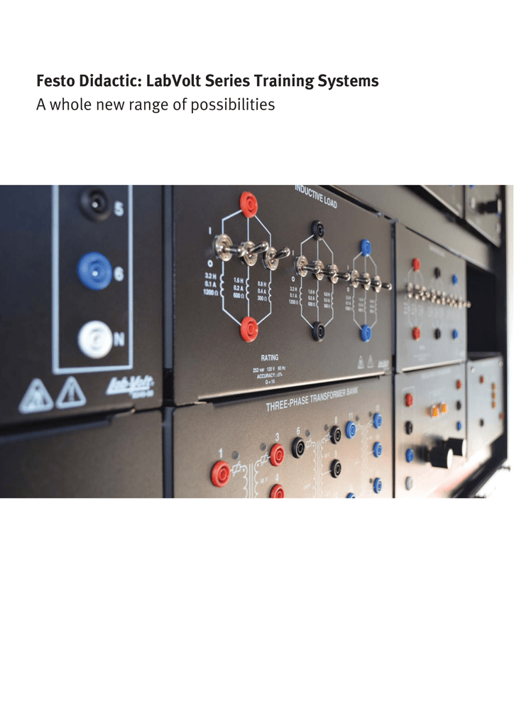 festo didactic labvolt series training systems a whole new range rh studylib net