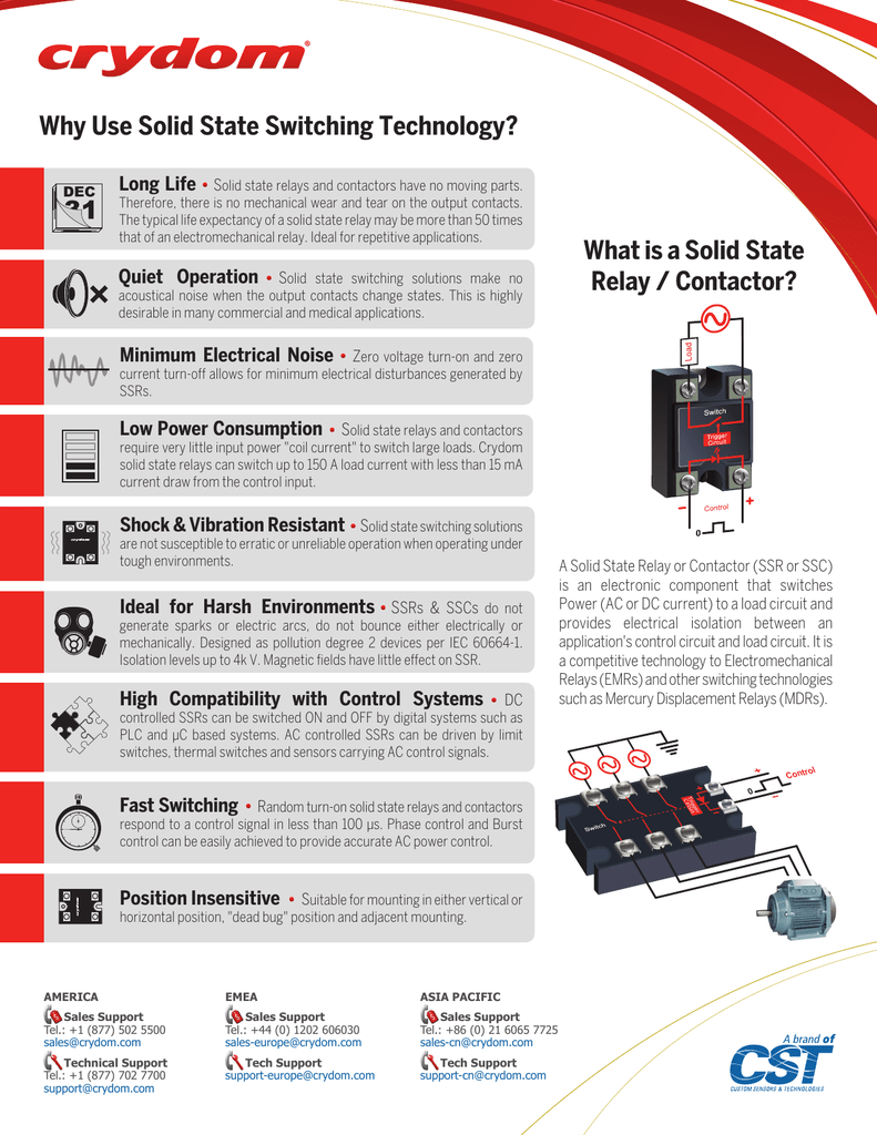 Why Use Solid State Switching Technology What Is A Relay Voltage