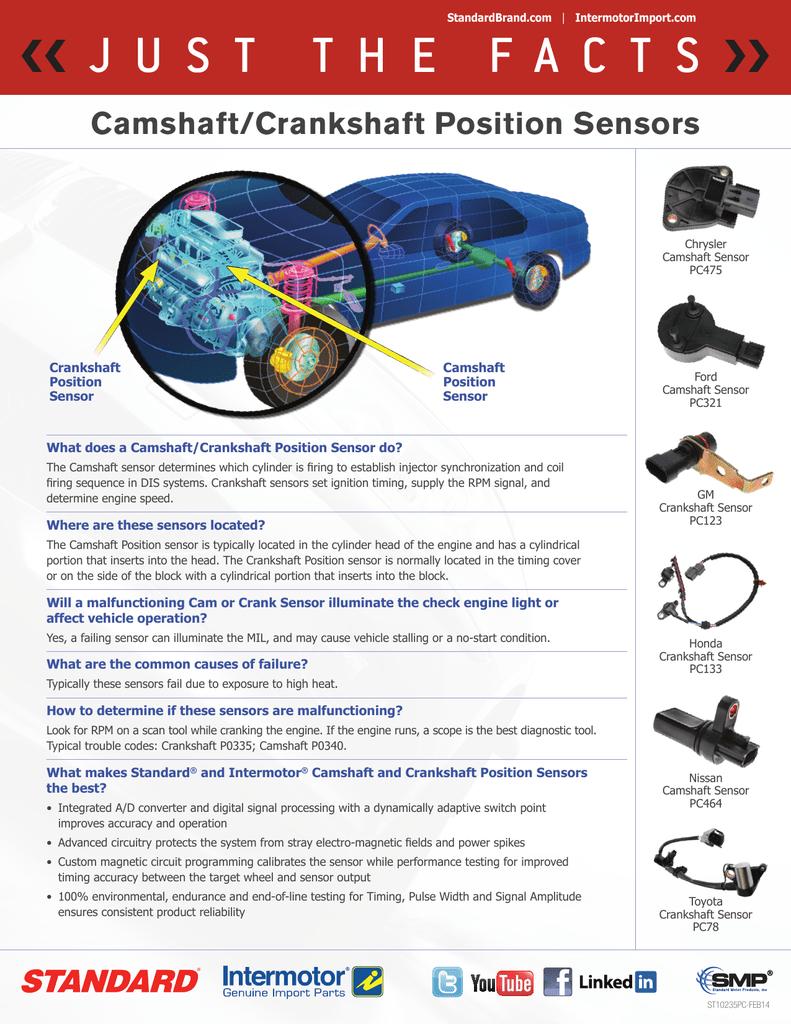Camshaft/Crankshaft Position Sensors