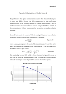 Appendix B. Calculation of Quality Factor Q
