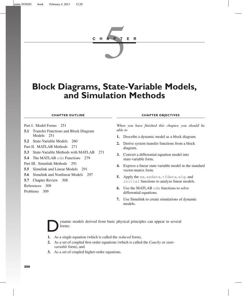 Block Diagrams  State