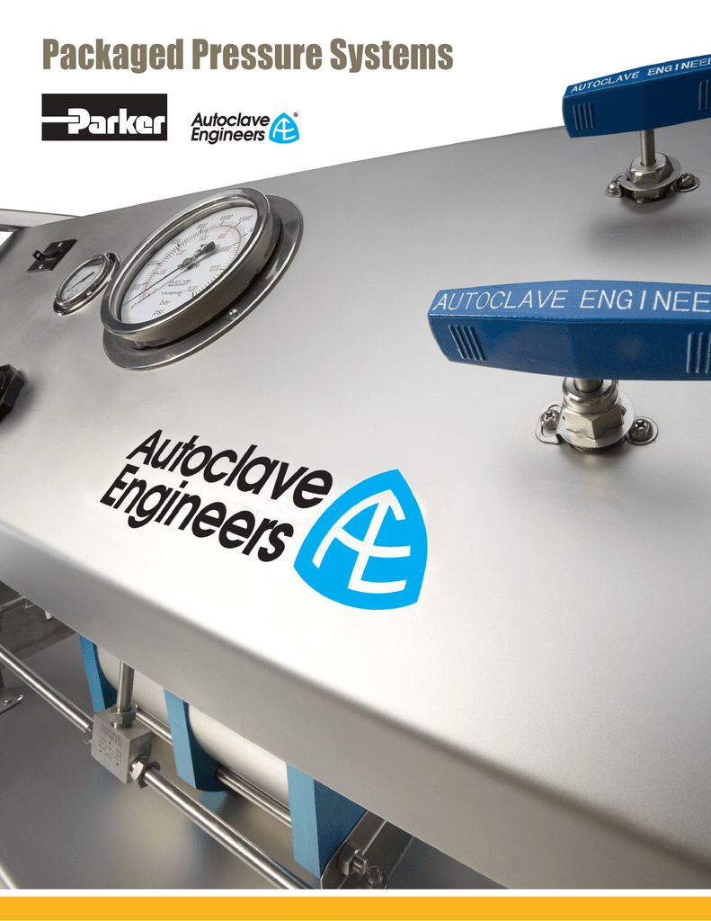 Packaged Pressure Systems - Parker Autoclave Engineers Air