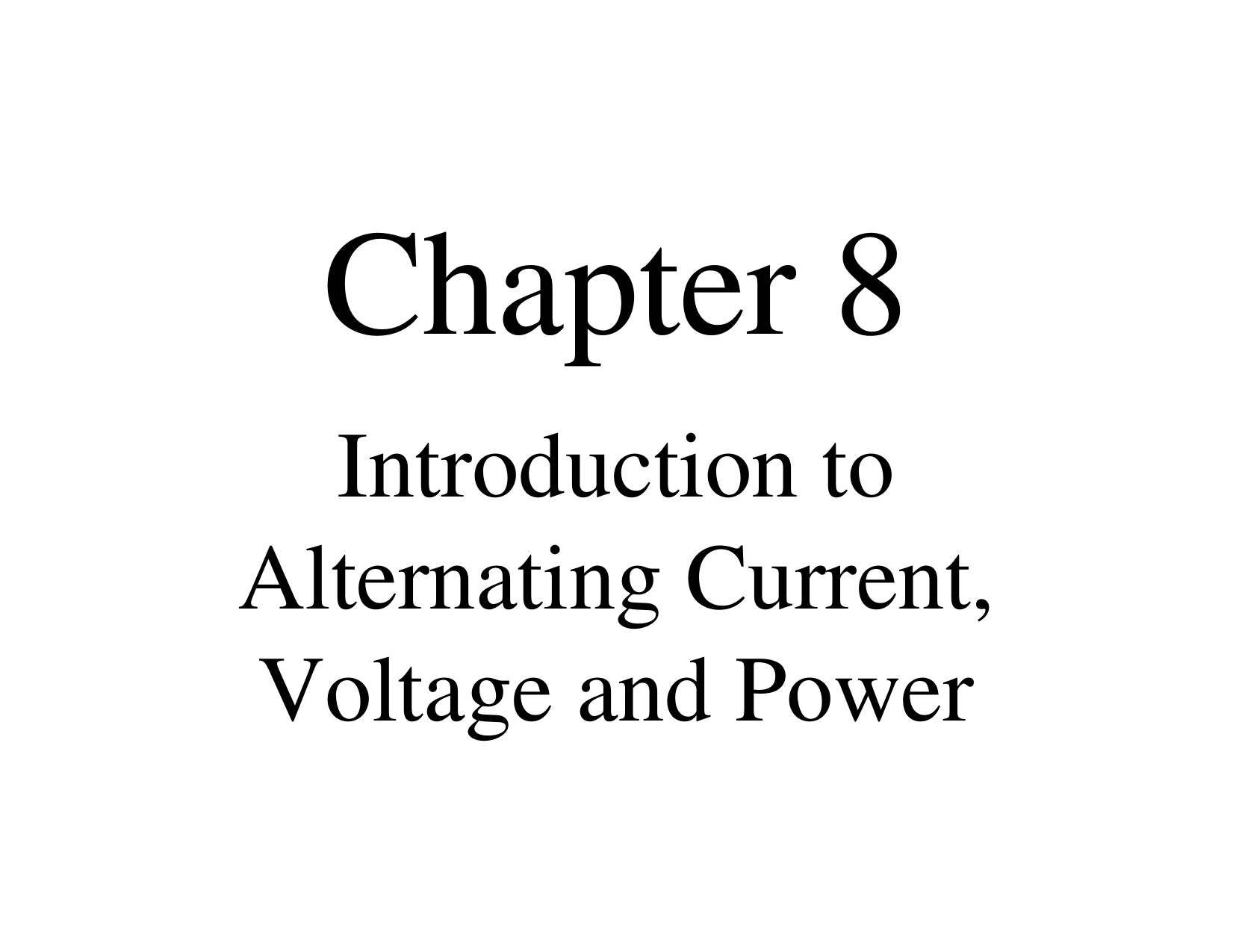 Introduction To Alternating Current Voltage And Power Square Pulse Generator