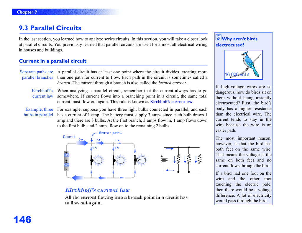 93 Parallel Circuits Circuit Current