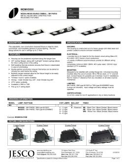 jesco lighting specifications jesco lighting