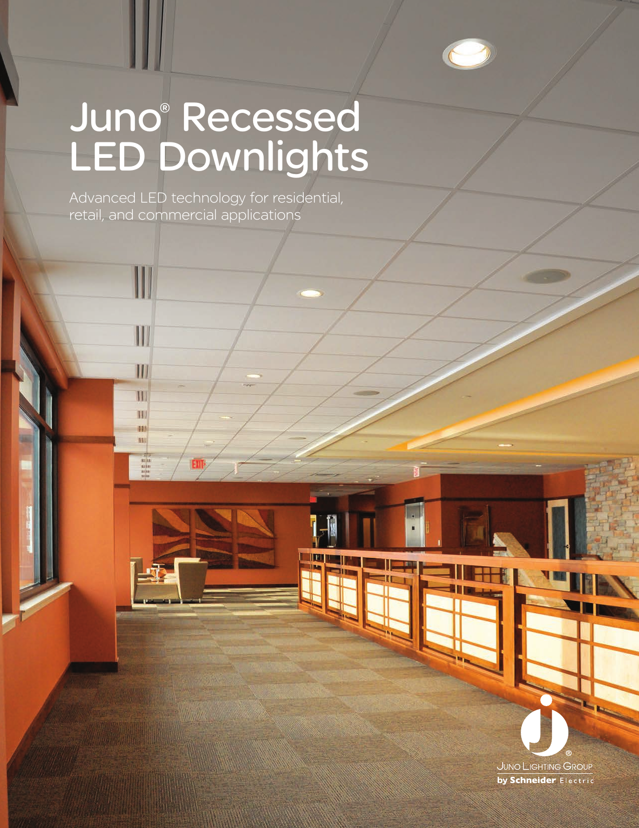 juno recessed led downlights