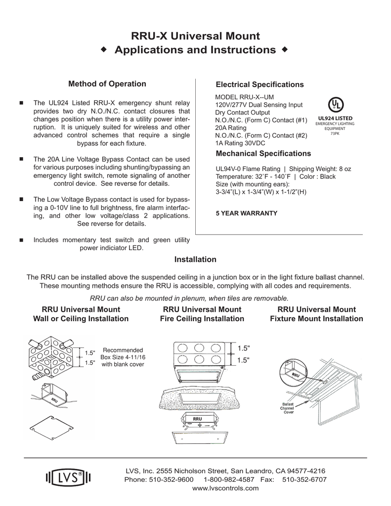 Ul 924 Standard Wiring Diagram Modern Design Of Hubbell Motion Sensor D250 Engine Harness Forced Photocell Relay