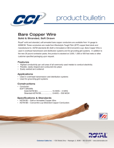 Bare Copper Wire Product Bulletin_Layout 1
