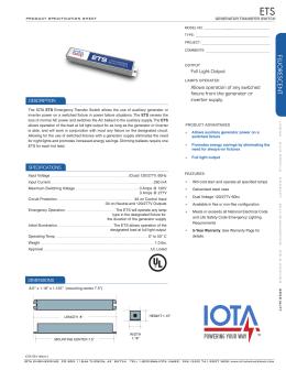 Emergency Transfer Switch - Architectural Star Lighting  sc 1 st  studylib.net & PDF FILE - Emergency Lighting azcodes.com