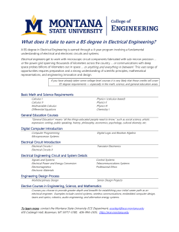 What does it take to earn a BS degree in Electrical Engineering?