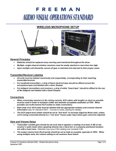 wireless microphone setup