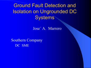Understanding Ground Fault Detection and Isolation on DC Systems