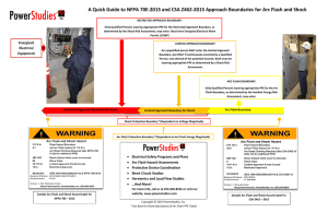 A Quick Guide to NFPA 70E-2015 and CSA Z462