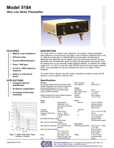 Model 5184 - Photonic Solutions