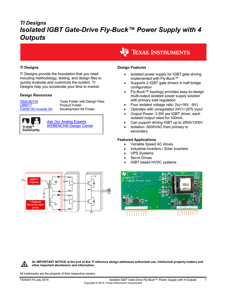 Isolated Igbt Gate Drive Fly Buck Power Mosfet Tester As Well Inverter Circuit Diagram On
