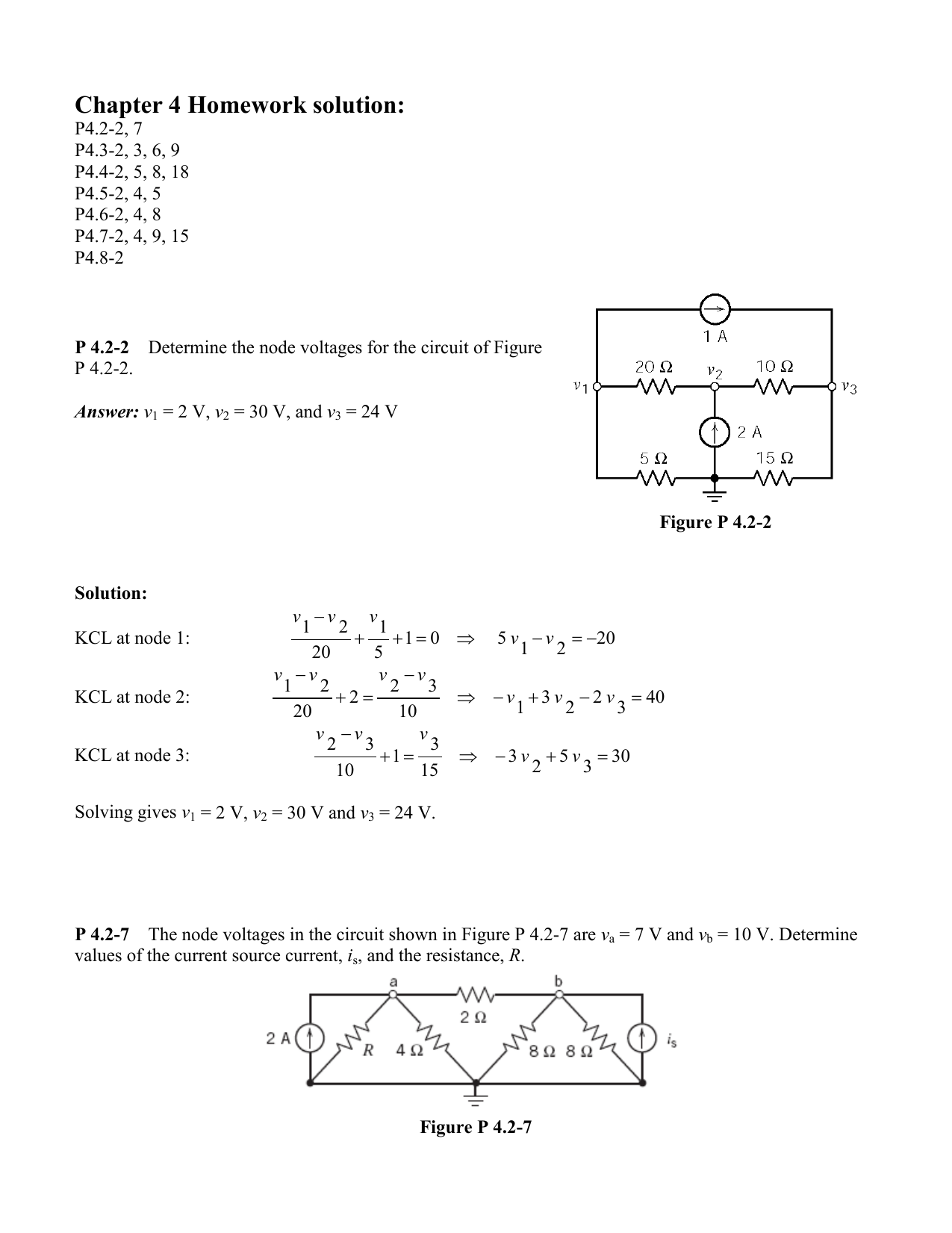 Chapter 4 Homework Solution Voltage Divider Network Has The Ability To Generate Different Voltages