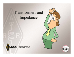 Transformers and Impedance