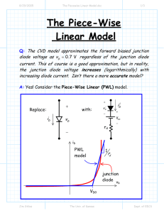 The Piecewise Linear Model