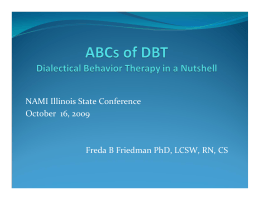 ABCs of DBT - NAMI Illinois