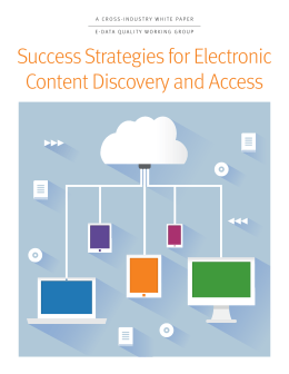 Success Strategies for Electronic Content Discovery and