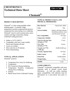 Technical Data Sheet Chemask