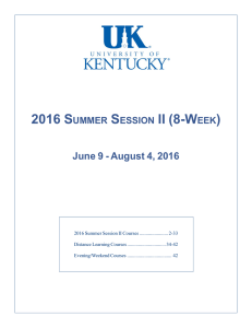 second summer session 2016