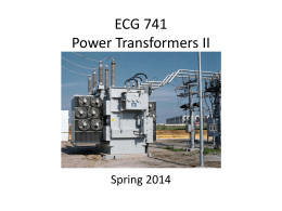 EE 340 Power Transformers