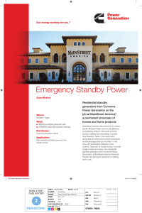 Emergency Standby Power - Cummins Home Generators and