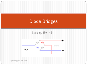Diode Bridges - WordPress.com