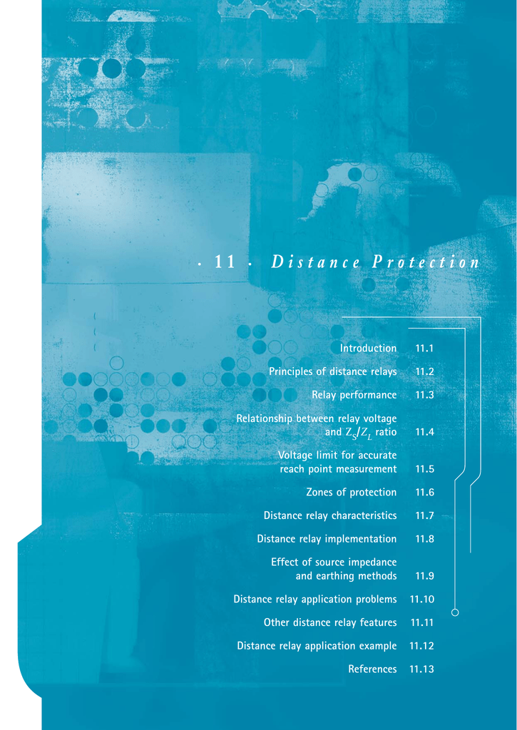11 Distance Protection