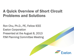 An Overview of Short Circuit Problems and solutions
